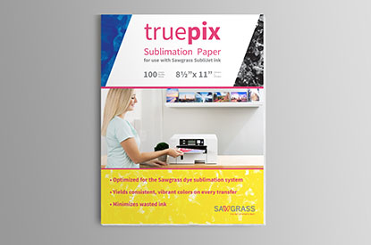 Truepix paper packaging