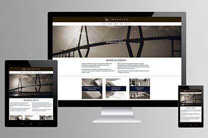 Warrick Group website